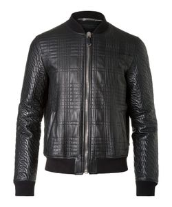 Philipp Plein | Leather Bomber President