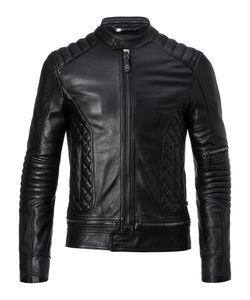 Philipp Plein | Leather Biker Tiger