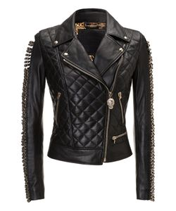 Philipp Plein | Leather Biker Wild