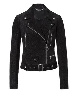 Philipp Plein | Leather Jacket Brasilia