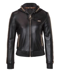 Philipp Plein | Leather Jacket Devi