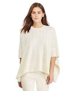 Ralph Lauren   Cable-Knit Cashmere Poncho