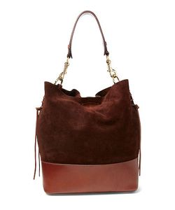 Ralph Lauren | Suede Square Hobo Bag