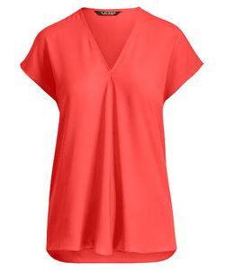 Ralph Lauren | Georgette Short-Sleeve Top