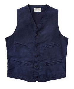 Ralph Lauren | Cotton Jungle Cloth Vest