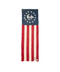 Rrl   Flag Cotton-Linen Scarf