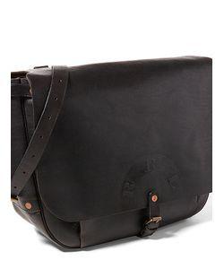 Ralph Lauren | Tumbled Leather Messenger Bag