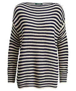 Ralph Lauren | Striped Boatneck Sweater