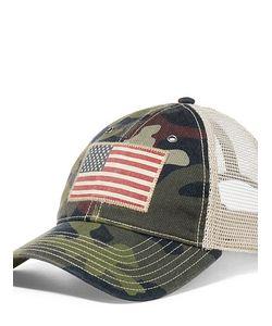 Ralph Lauren   Camo-Print Twill Trucker Hat