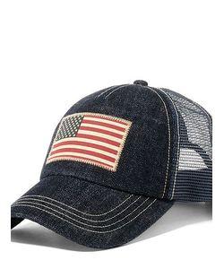 Ralph Lauren   Denim Mesh Trucker Hat