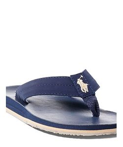 Ralph Lauren | Leo Faux-Leather Flip-Flop