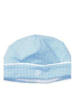 Ralph Lauren   Houndstooth Pima Cotton Hat
