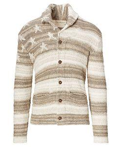 Ralph Lauren | Flag Cotton-Blend Cardigan