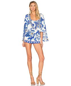Camilla | Cape Playsuit
