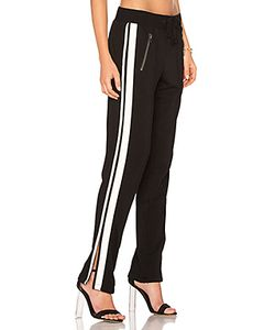 Pam & Gela   Zippered Pant With Side Stripes