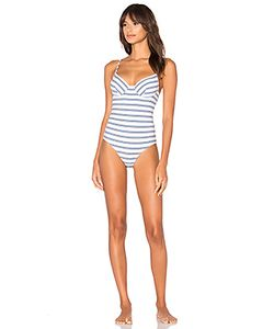 Only Hearts | Recycled Stripe Underwire Bodysuit