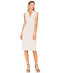 Norma Kamali | Sleeveless Side Drape Dress