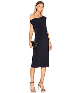 Norma Kamali | Drop Shoulder Dress