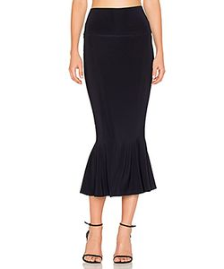 Norma Kamali | Cropped Fishtail Skirt