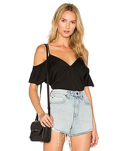 T by Alexander Wang | Cold Shoulder Chain Top
