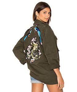 Blue Life | X Good Fckin Vibes Bird Army Jacket