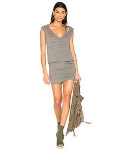 Pam & Gela   Slash Neck Ruched Dress