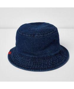 River Island   Denim Bucket Hat