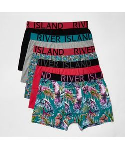 River Island | Parrot Print Boxers Multipack