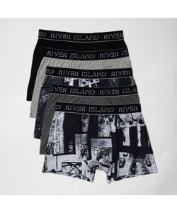 River Island | Photographic Print Boxers Multipack