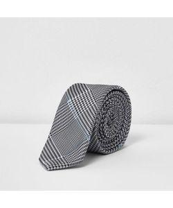 River Island   Diamond Print Tie