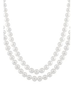 Masako | Pearls 7-7.5mm Pearl 14k Double Necklace
