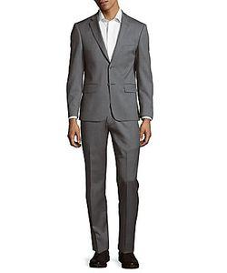 John Varvatos | Textured Wool Suit