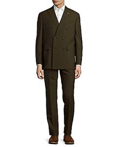 Michael Bastian | Double-Breasted Wool Suit