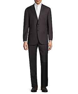 Canali | Striped Wool Suit
