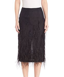 Jason Wu | Feather Voile Skirt