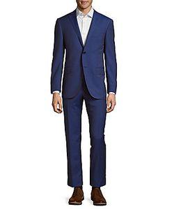 Corneliani | Pinstripe Woolen Suit