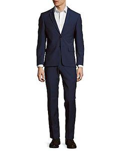 John Varvatos | Solid Wool-Blend Suit
