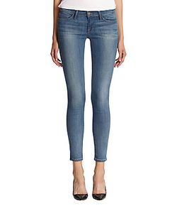 Frame Denim   Le Skinny De Jeanne Cropped Jeans