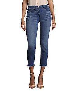 3X1 | Five-Pocket Frayed Hem Jeans