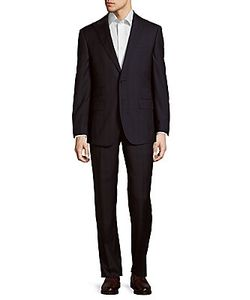 English Laundry | Plaid Wool Two-Button Suit