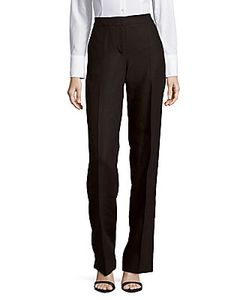 Max Mara   Solid Linen Trousers