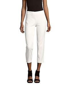 M Missoni | Bianco Solid Cropped Pants