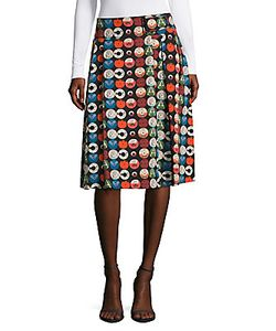 Akris | Cotton Printed Skirt