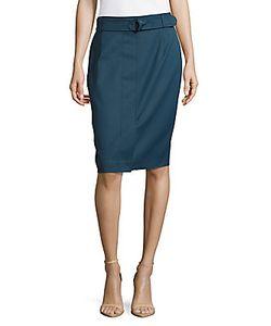 Akris | Solid Pencil Skirt