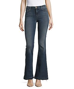 J Brand | Flared Cuff Denim Jeans