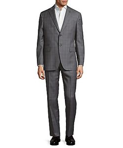 Michael Bastian | Plaid Wool Suit