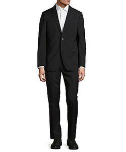 Saks Fifth Avenue | Pinstripe Wool Suit