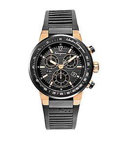 Salvatore Ferragamo | F-80 Two-Tone Chronograph Watch