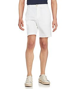 Michael Kors | Solid Cotton Stretch Shorts