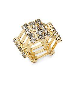 Dannijo | Kelty Swarovski Crystal Plated Ring